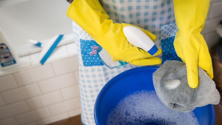 Van alle hervormingen en bezuinigingen in de zorg zijn er de meeste klachten over het korten op huishoudelijke hulp. Beeld anp