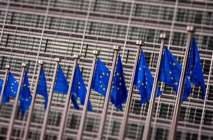 Het hoofdkantoor van de Europese Commissie.