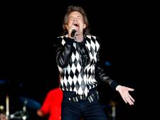 Mick Jagger terug op podium na hartoperatie