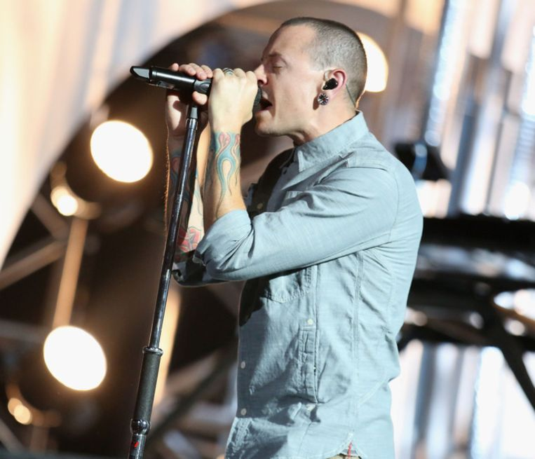 Chester Bennington. (Linkin Park) Beeld getty