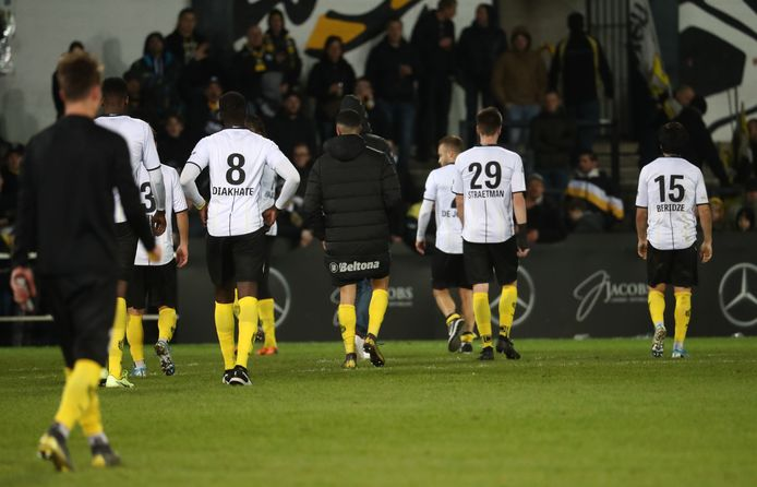 De spelers van Sporting Lokeren.