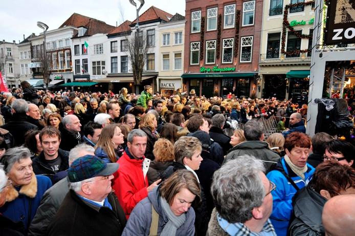 Het Glazen Huis trok in 2008 duizenden mensen naar de Grote Markt in Breda.