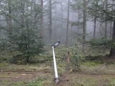 Vandalen slopen lantaarnpalen tussen Rijssen en Holten
