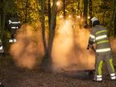Drukke nacht: brandweer Woerden blust kampvuur en autobrand
