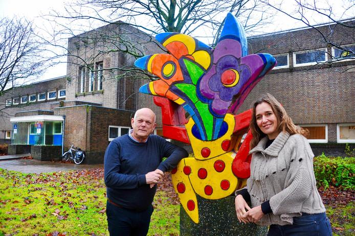 Jan-Dirk Costeris en Mariska Wagner gaan de school aan de Bosboom-Toussaintstraat verbouwen tot zorgstudio's.
