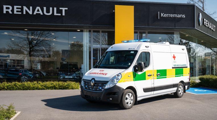 Renault garage Kerremans mag ziekenwagens gaan leveren aan het Rode Kruis.