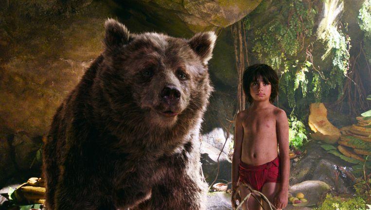 De best bezochte film was de nieuwe versie van The Jungle Book. Beeld .