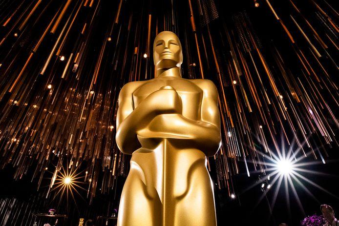 Een Oscarbeeld.