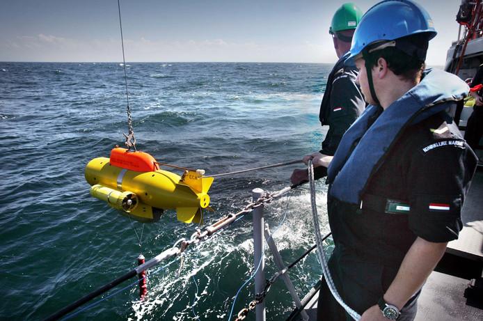 Archief: Mijnen jagen op de Noordzee