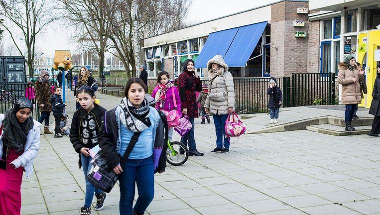 Basisschool de Kinderboom in Amsterdam-Noord. Beeld Maarten Steenvoort