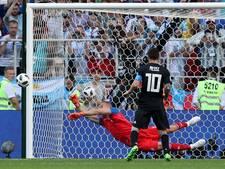 Argentinië door pijnlijke misser Messi niet langs WK-debutant IJsland