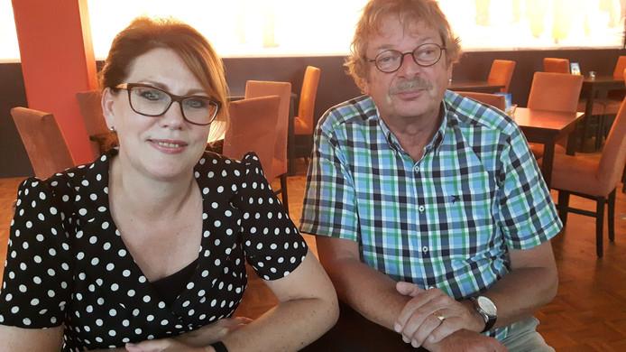 Secretaris Marion Vorstenbosch van Asterius voorzitter Leo Wolfs.