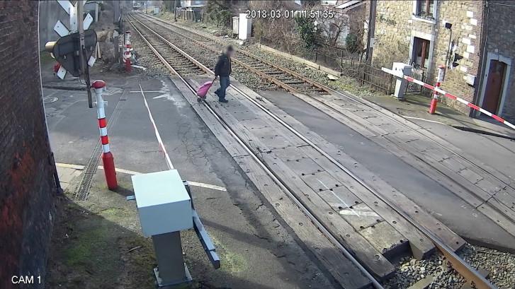 Roekeloos gedrag bij Belgische spoorwegen