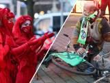 Actievoerders van Extinction Rebellion ketenen zich vast bij ministerie, 23 mensen aangehouden