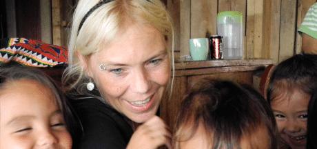 Lara uit Lamswaarde leeft liever in Laos