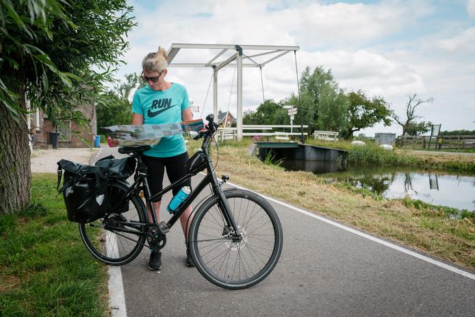 Via Oud-Maarsseveen en Maarssen fietst Marieke naar het Zandpad aan de Vecht.