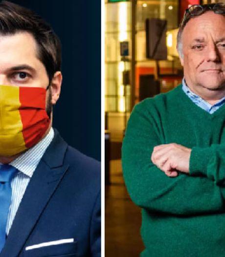 """Georges-Louis Bouchez et Marc Van Ranst s'écharpent sur Twitter: """"Aucune décision n'a été prise sans vos conseils"""""""
