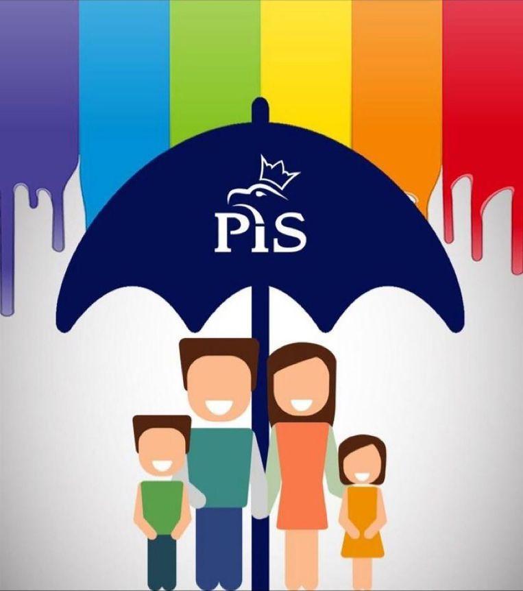 De Poolse PiS-partij wil het gezin beschermen tegen de 'verleidingen' van homoseksualiteit. Beeld