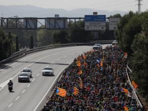 Les manifestations se poursuivent en Catalogne