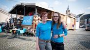 Café opent tijdelijke blokhut op marktplein