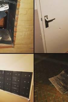 Brievenbus opgeblazen in Tiel; inwoners moeten geen wonderen verwachten van vuurwerkmeldpunt