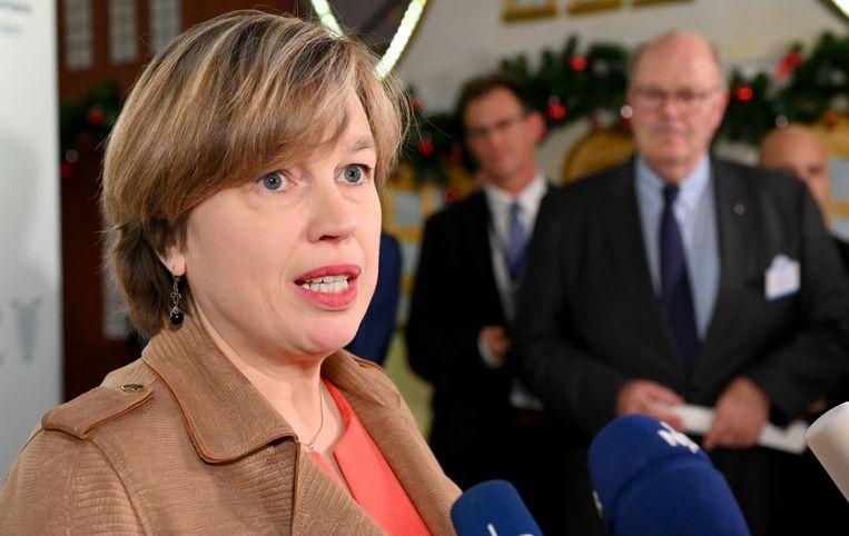 Catherine De Bolle, hoofd van Europol.