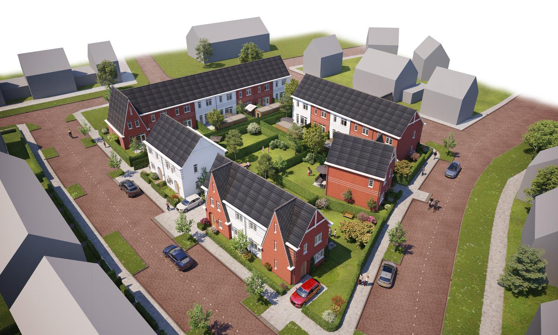 Project BL Huisvesting in Boekelse wijk de Run.