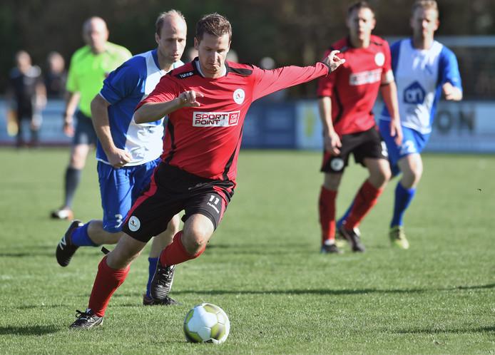 \Mark Minderhoud Maakte zaterdag één goal namens De Noormannen tegen VCK.