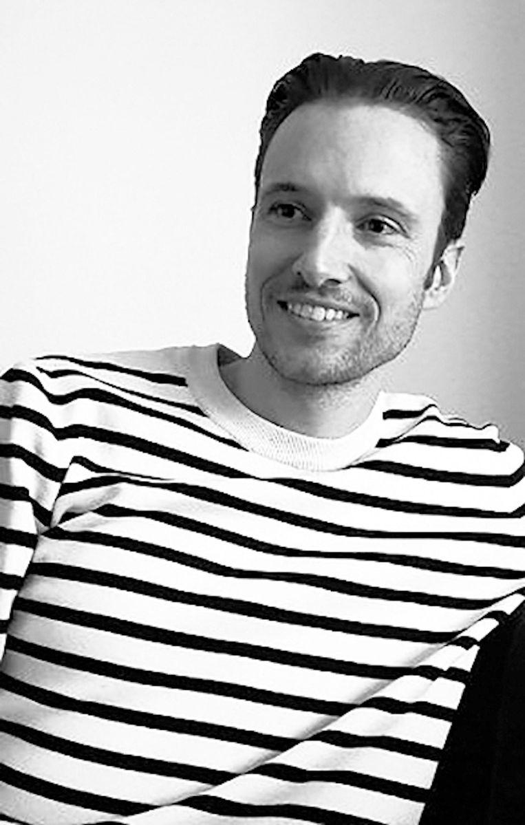 Pascal Cuijpers, kunstdocent en faalangstreductietrainer Beeld .