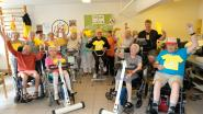 Bewoners WZC Maria Boodschap rijden eigen Tour de France