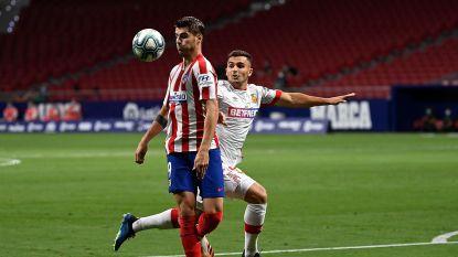 LIVE. Atlético op voorsprong: Morata scoort bij herkansing na gemiste eerste penalty