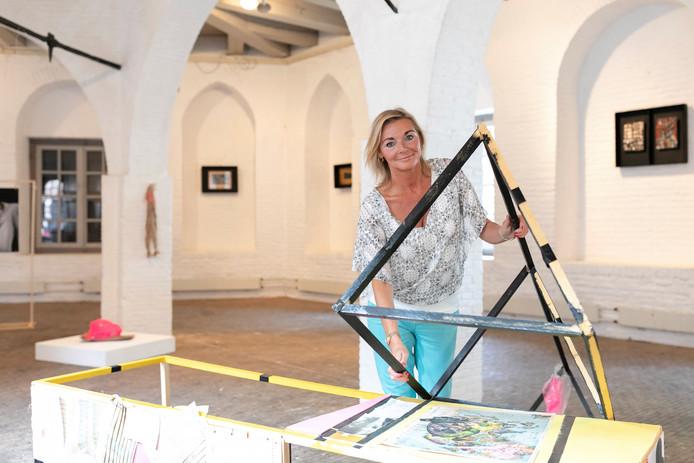 De expositie 'Relithkwie' van Jolande van Lith in het Kruithuis in Den Bosch.