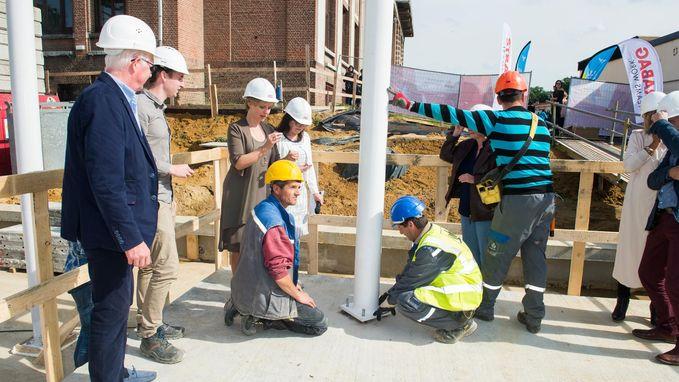 Futuristische campus in Rivierenhof klaar in april