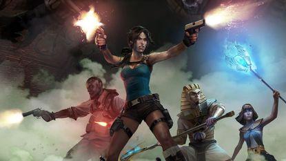 'Oude' Lara Croft maakt een geforceerde rentree