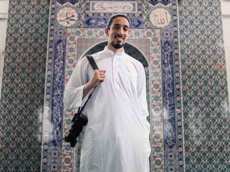 'Treitervlogger' Ismail Ilgun. Beeld Ikenna Visuals