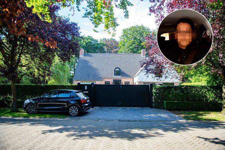 De verkochte villa van Mireille Gram. Inzet Mohamed El K., die naar eigen zeggen nog altijd een koppel vormt met de Kipling-erfgename.