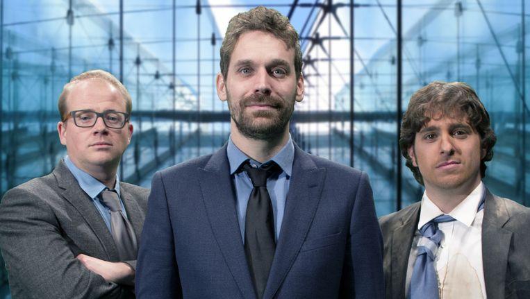 Sven De Leijer, Otto-Jan Ham en Jelle De Beule.