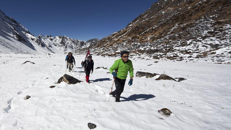 De Mount Everest is met een hoogte van 8848 meter de hoogste berg ter wereld.