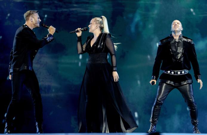 Een van de inzendingen van het huidige Songfestival: KEiiNO