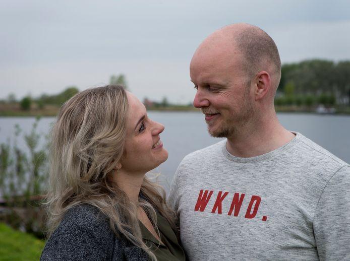 Maarten Boot en Cindy Ozkohen.