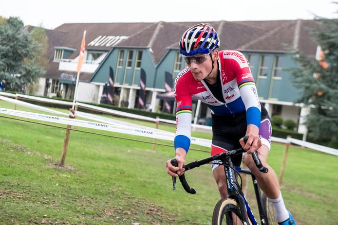 Mathieu van der Poel won in 2017 de GP van Brabant.