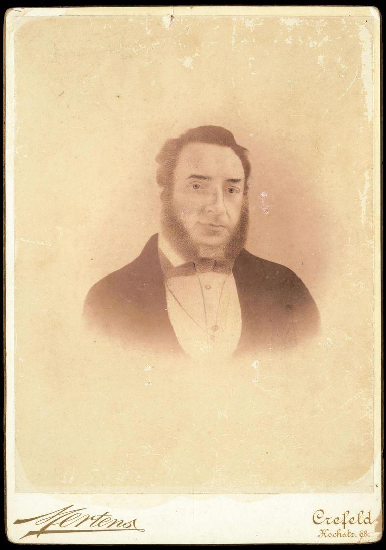 Over-overgrootvader Gerrardus Chauvigny de Blot (1827-1896), rooimeester te Java. Beeld null