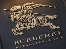 Modemerk Burberry onder vuur na verbranden 30 miljoen euro aan kleding