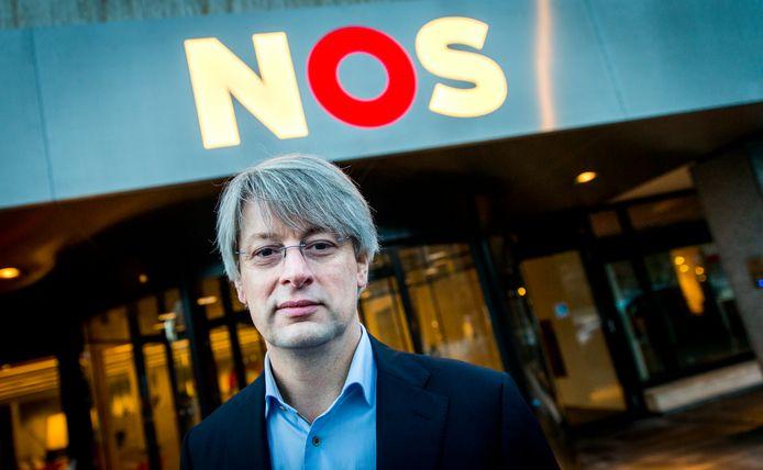 Hoofdredacteur van NOS Nieuws Marcel Gelauff