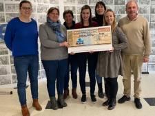 Basisschool Mozaïek spaart meer dan 6.000 euro voor mug-heli
