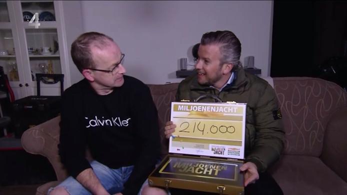 Corné Heeren uit Oudenbosch wint 214.000 euro bij Miljoenenjacht.