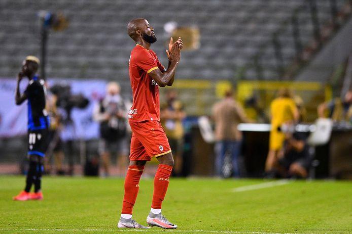 Didier Lamkel Zé a fait étalage de sa technique sur la pelouse du Stade Roi Baudoin.