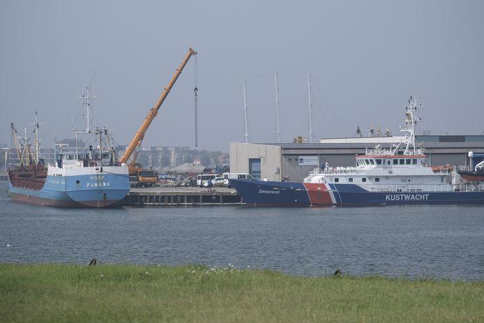 De Hoop ligt aan de Visserijkade in Vlissingen.