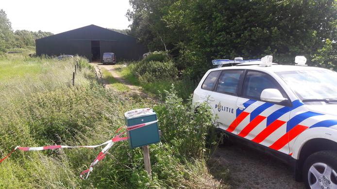 Drugslabs worden steeds vaker in het buitengebied ontdekt.