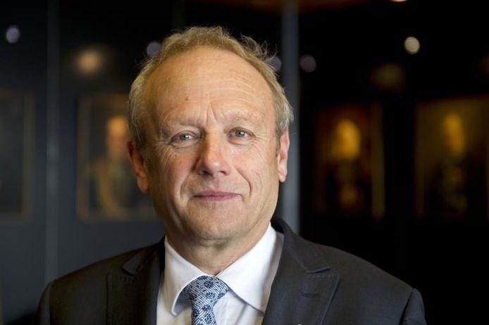 Burgemeester Jan Boelhouwer.